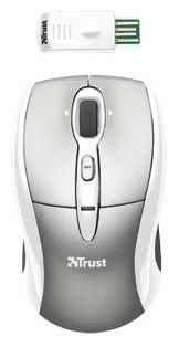 Мышь Trust Wireless Laser Mini Mouse for Mac Windows PC Grey USB