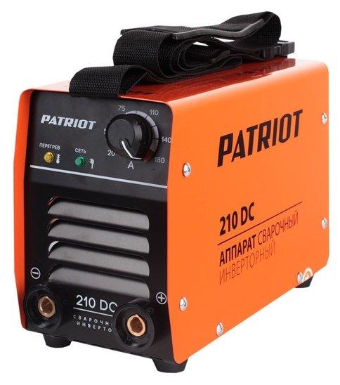 Сварочный аппарат PATRIOT 210 DC