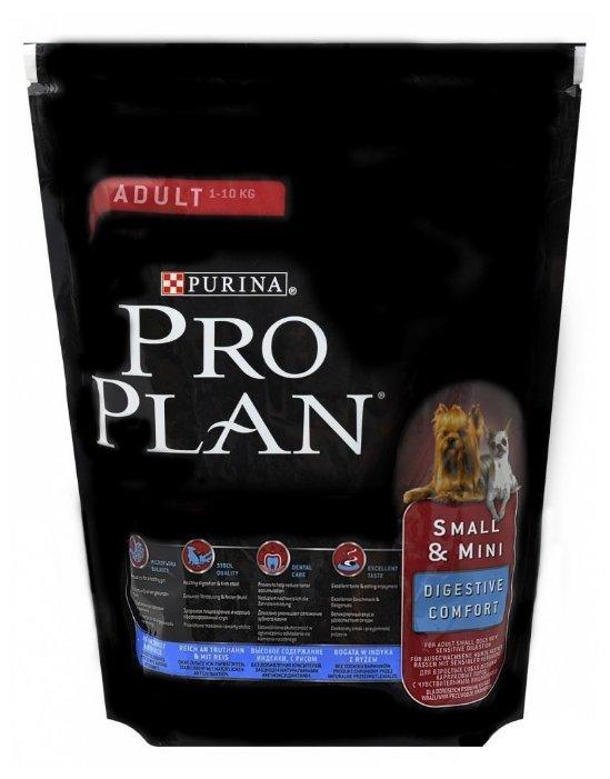 Корм для собак Purina Pro Plan индейка с рисом (для мелких пород)