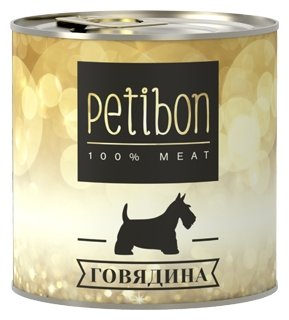 Корм для собак Petibon 100% meat Говядина для собак (0.24 кг) 1 шт.