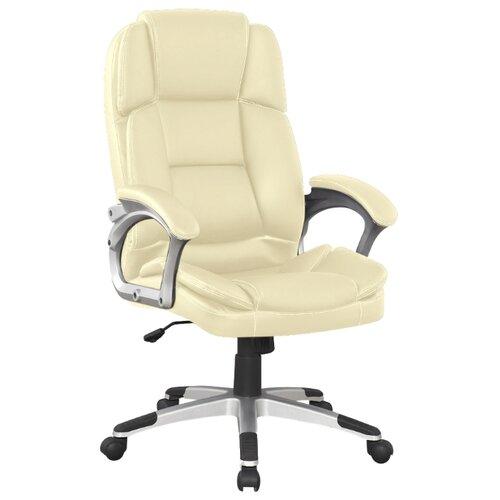 Компьютерное кресло College BX-3323 для руководителя, обивка: искусственная кожа, цвет: бежевый
