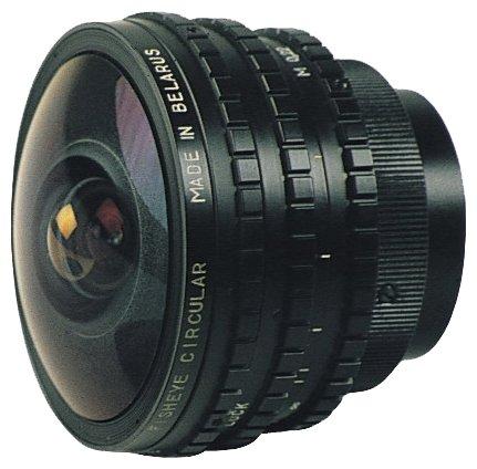 Объектив БелОМО MC 8mm f/3.5 Nikon F