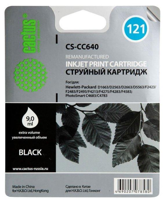 Картридж cactus CS-CC640 121