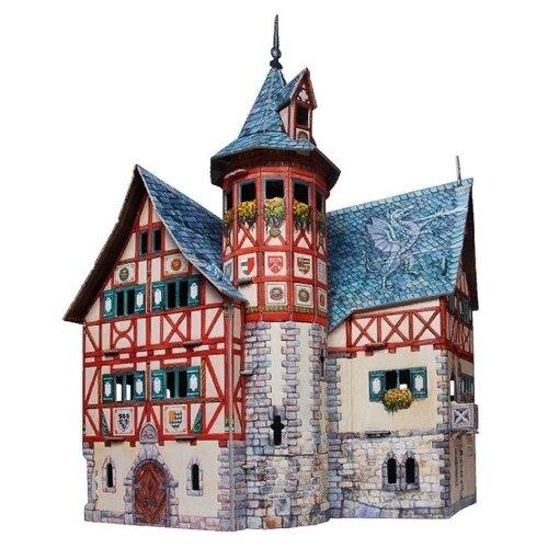 Сборная модель Умная Бумага Средневековый город: Новая ратуша (414)Сборные модели<br>