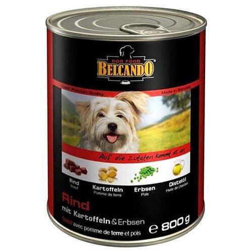 Корм для собак Belcando Говядина с картофелем и горохом (0.8 кг) 1 шт.Корма для собак<br>