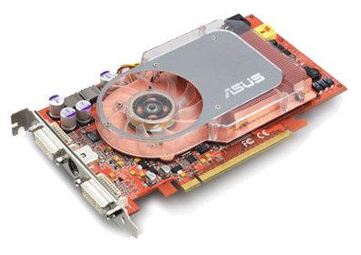 Видеокарта ASUS Radeon X800 XT 500Mhz PCI-E 256Mb 1000Mhz 256 bit 2xDVI TV