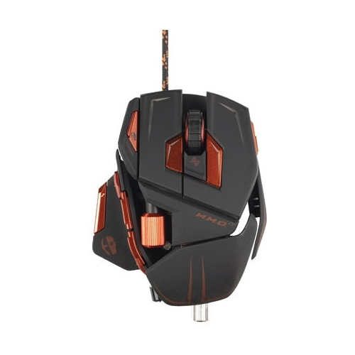 Мышь Mad Catz M.M.O. 7 Gaming Mouse Matte Black USB