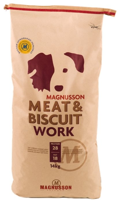 Корм для собак Magnusson Meat & Biscuit Work