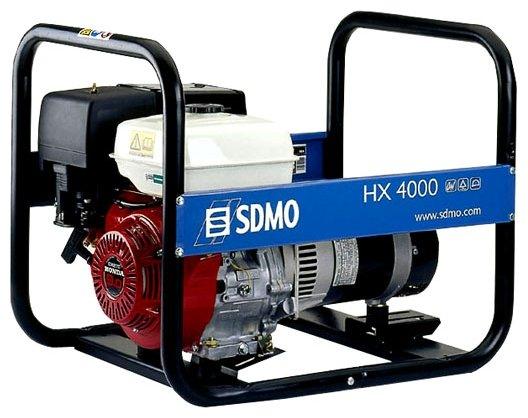 Бензиновая электростанция SDMO HX4000