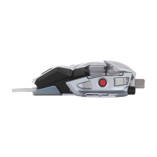 Мышь Mad Catz M.M.O. 7 Gaming Mouse Gloss White USB
