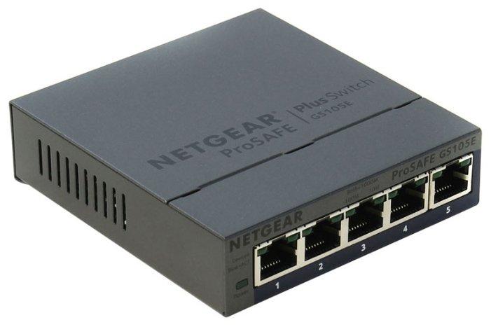 NETGEAR Коммутатор NETGEAR GS105E-200PES
