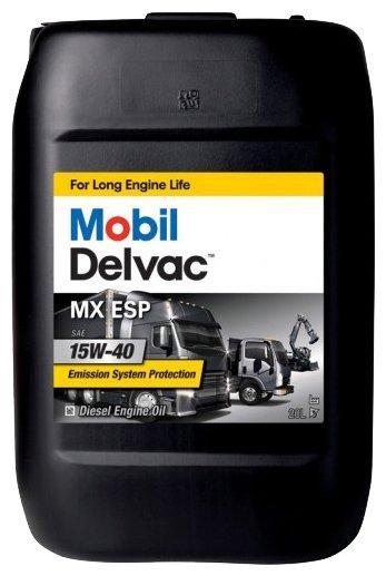Моторное масло MOBIL Delvac MX ESP 15W-40 20 л