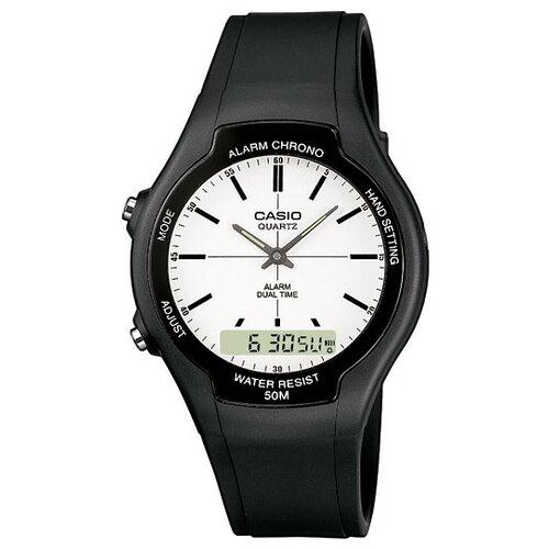 цена Наручные часы CASIO AW-90H-7E онлайн в 2017 году