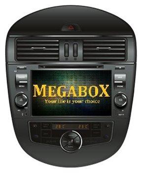 Автомагнитола Megabox Nissan Tiida CE6616