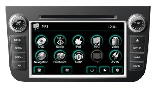 Автомагнитола FlyAudio 76137E01 BENZ Smart