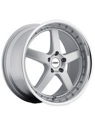 Диск TSW Carthage 8x18/5x120 ЕТ35 D76 Gloss Black Mirror Lip Milled Spokes - фото 1