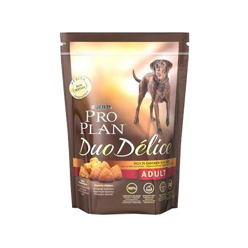 Корм для собак Purina Pro Plan (0.7 кг) Duo Delice Adult сanine rich in Chicken with Rice dryКорма для собак<br>