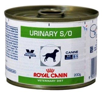 Корм для собак Royal Canin Urinary S/O при мочекаменной болезни 3шт. х 200г