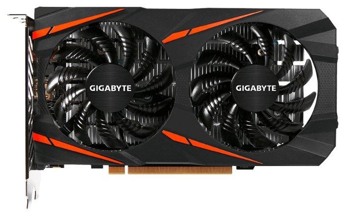 GIGABYTE Radeon RX 550 1206Mhz PCI-E 3.0 2048Mb 7000Mhz 128 bit DVI HDMI HDCP Gaming OC