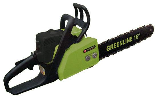 Цепная бензиновая пила GREENLINE GL 320