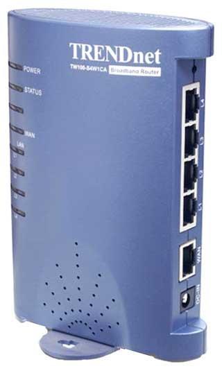 TRENDnet TW100-BRF214 Router Descargar Controlador