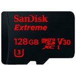 Карта памяти SanDisk Extreme microSDXC Class 10 UHS Class 3 V30 90MB/s
