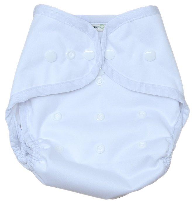 WiseMam подгузники непромокаемый чехол белый (до 13,5 кг) 1 шт.