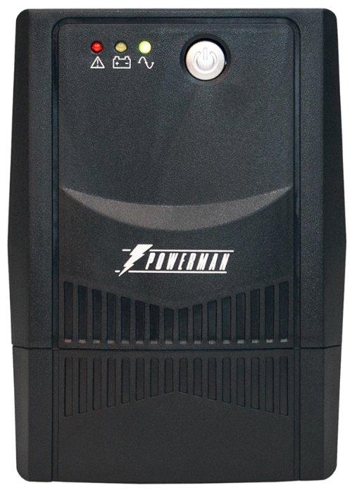 Интерактивный ИБП Powerman Back Pro Plus 600