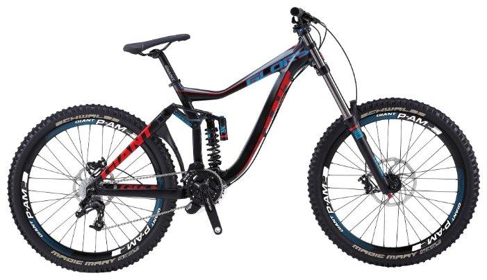 Велосипед Giant Glory 2 (2014) Черный 17 ростовка