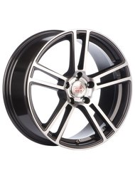 Колесный диск 1000 Miglia MM1002 8x18/5x112 D66.6 ET45 Dark Anthracite Polished - фото 1