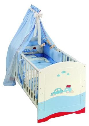 Кроватка HPA My Blue Car