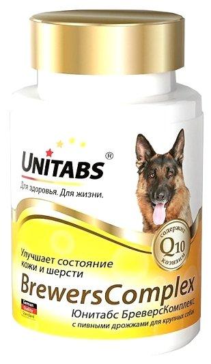 Добавка в корм Unitabs BrewersComplex с пивными дрожжами для крупных собак