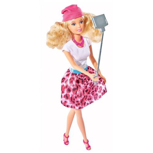 Купить Кукла Steffi Love Штеффи с селфи палкой, 29 см, 5738049, Simba, Куклы и пупсы