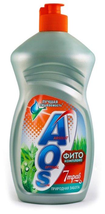 AOS Средство для мытья посуды Фитокомплекс 7 трав