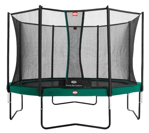 Каркасный батут Berg Favorit + Safety Net Comfort 430