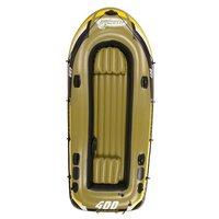 """Лодка надувная четырехместная Jilong """"Fishman 400 Boat Set"""""""