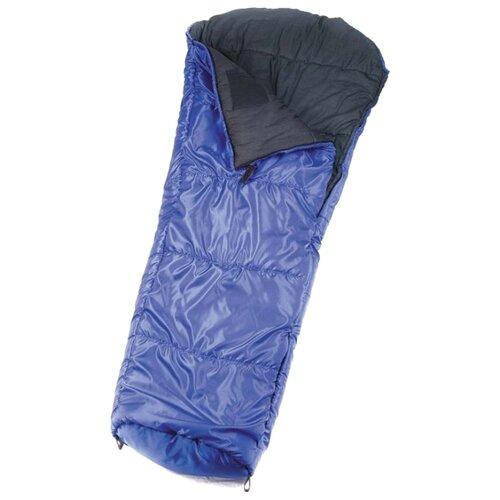 Спальный мешок Спортивные Мастерские Кокон цветной -5°С/-15°С синийСпальные мешки<br>