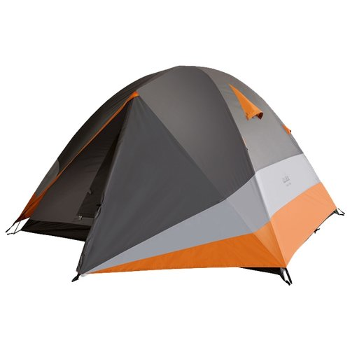 Палатка NORFIN Begna 2 Alu серый/оранжевый
