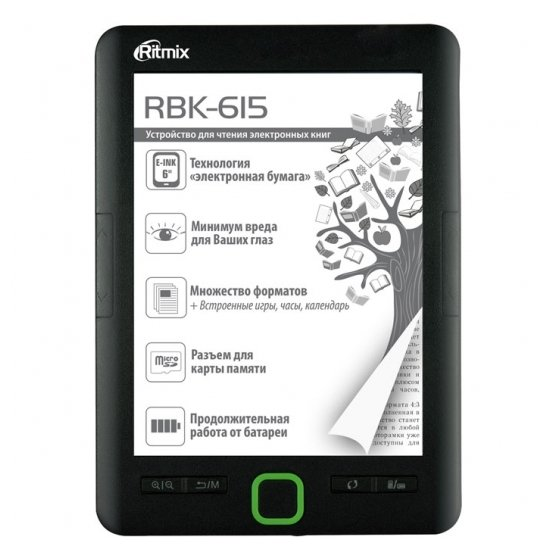 Ritmix Электронная книга Ritmix RBK-615