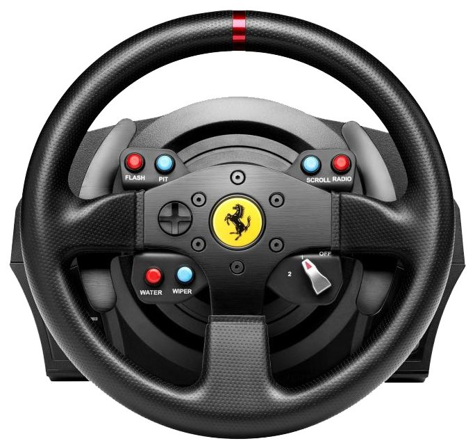Руль с педалями Thrustmaster T300 Ferrari GTE EU Version PS4 PS3 PC