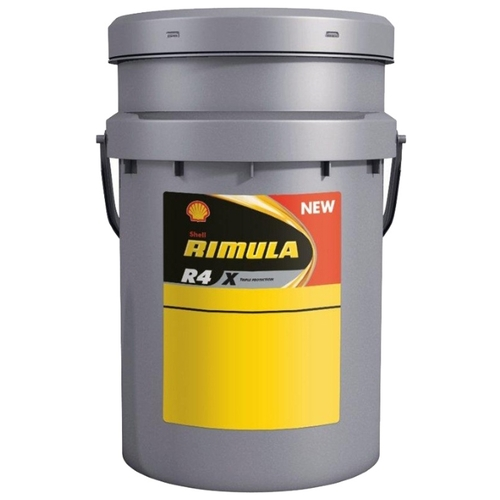 Моторное масло SHELL Rimula R4 X 15W-40 20 л Моторные масла
