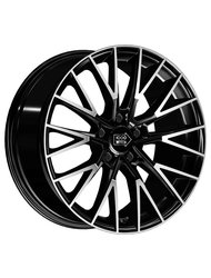 Диски 1000 Miglia MM1009 8,5x19 5x112 D66.6 ET45 цвет Glossy Black-Polished - фото 1