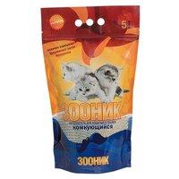 Наполнители для кошачьих туалетов Наполнитель зооник комкующийся, 4.5кг, 4.5 кг