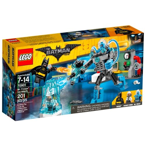 Купить Конструктор LEGO The Batman Movie 70901 Ледяная атака мистера Фриза, Конструкторы