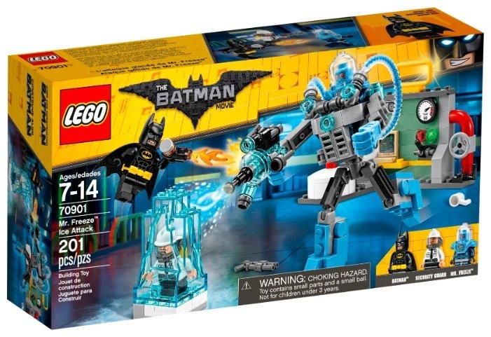 Классический конструктор LEGO The Batman Movie 70901 Ледяная атака мистера Фриза