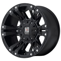 Колесные диски XD Series XD822 Monster II 9x17/8x165.1 D130 ET-12 Matte Black
