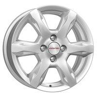 Колесные диски K&K КС693 6x15/4x100 D60.1 ET50 Сильвер