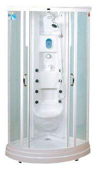 Душевая кабина Aqualux B491 95см*95см