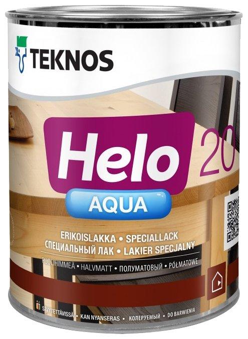 Лак TEKNOS Helo Aqua 20 (0.9 л)