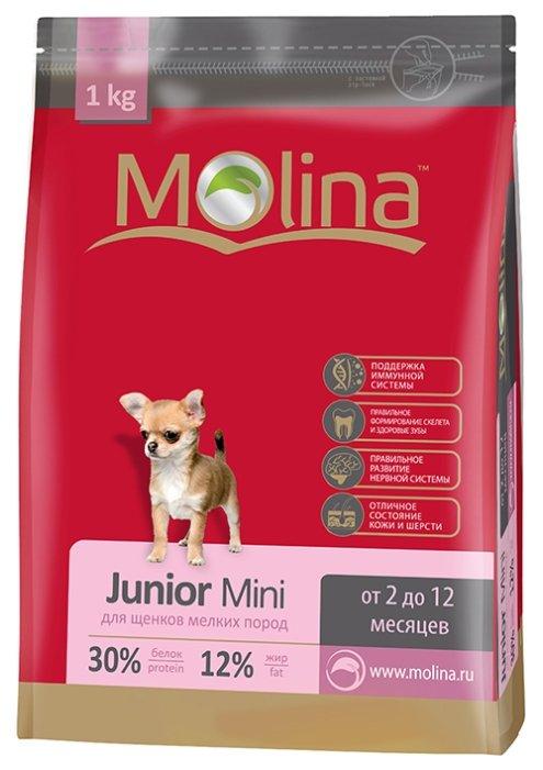 Корм для собак Molina Junior Mini (1 кг)